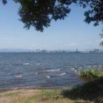 「車旅日記」1996年秋【恋に病んで・・・西へ。1号国道をひたすら、大阪の友に会いにいく。】その2-東寺、五条大橋、琵琶湖湖岸道路、米原、関ヶ原・・・・-