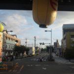 「車旅日記」2004年夏【九州を一周してみよう。そう思いたった、真夏の日々でございます。】4日目(鹿児島-田原坂-長崎)走行距離384㎞その1-鹿児島東急イン、城山公園、鹿児島中央駅、出水駅、八代駅、熊本駅
